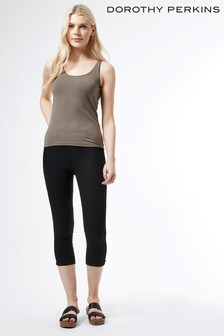 Dorothy Perkins Eden Crop Jeggings With Organic Cotton