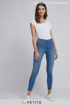 Dorothy Perkins Petite Short Length Frankie Skinny Jeans