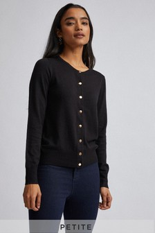 Dorothy Perkins Black Petite Core Cardigan