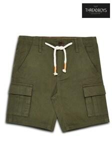 Threadboys Olive Chino Shorts