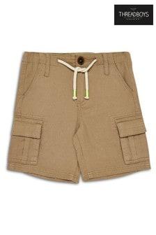 Threadboys Stone Chino Shorts