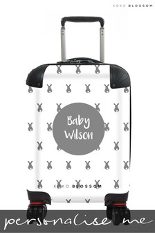 Personalised  Baby Bunny Kids Suitcase By Koko Blossom