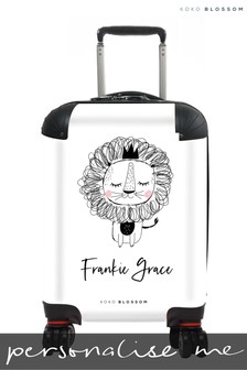 Personalised Baby Lion Kids Suitcase By Koko Blossom
