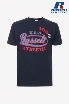 Russell Athletic 1902 Logo T-Shirt