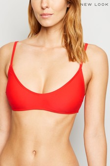 New Look Basic Voop Crop Bra