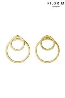 Pilgrim Gold Plated Earrings