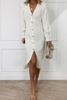 Pretty Lavish Peony Cardigan Dress