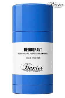 Baxter of California Alcohol and Aluminium Free Deodorant 75g