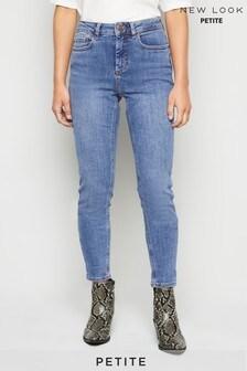 New Look Petite Mid-Rise Super Skinny Jeans