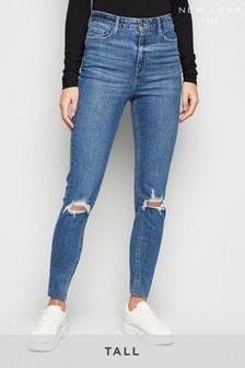 New Look Tall Ripped Denim Skinny Jeans