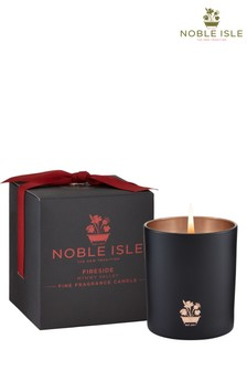 Noble Isle Fireside Single Wick Candle - Mynwy Valley - Warming And Cosy