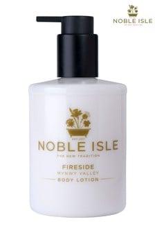 Noble Isle Fireside Luxury Body Lotion - Mynwy Valley - Satin Smooth