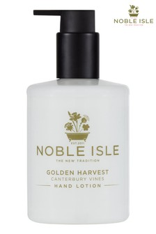 Noble Isle Golden Harvest Luxury Hand Lotion - Canterbury Vines - Fresh And Soothing