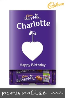 Personalised Chocolate Cadbury Dairy Milk Favourites Box By Yoodoo