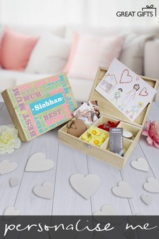 Personalised 6 Compart Mum Storage by Great Gifts