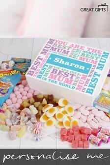 Personalised Best Mum - Deluxe Sweet Box