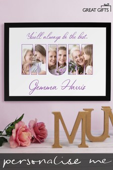 Personalised Mum A3 Framed Print by Great Gifts