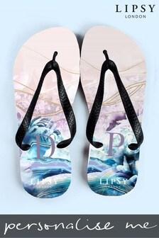 Personalised Lipsy Liana Flip Flops By Treat Republic