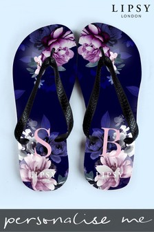 Personalised Lipsy Serena Flip Flops By Treat Republic