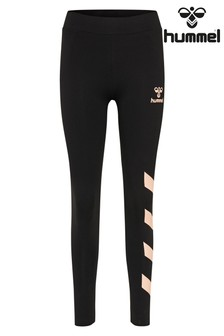 Hummel Women Black Casual Tights