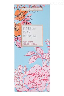 Heathcote & Ivory Florals Pinks & Pear Blossom Scent Everyday Body Cream