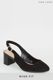 New Look Wide Fit Radiance Sling Sandals