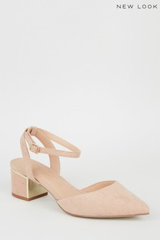 New Look Two-Part Metal Heel Sandal