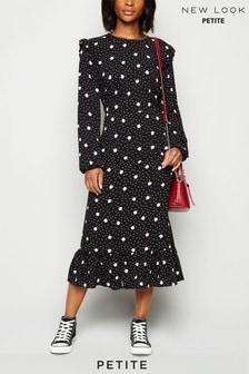 New Look Petite Esmeralda Spot Dress