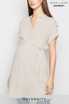 New Look Maternity Overhead Belted Tunic