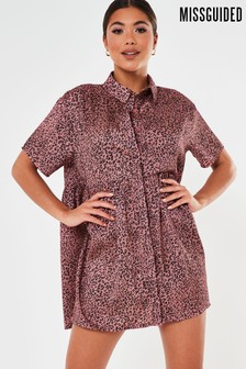 Missguided Shirt Smock Dress