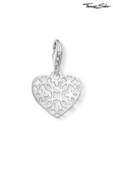 Thomas Sabo Silver Arabesque Heart Charm