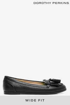 Dorothy Perkins Wide Fit 'Latino' Loafers