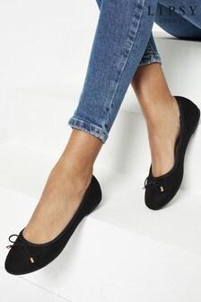 Lipsy Black Ballerina Shoe