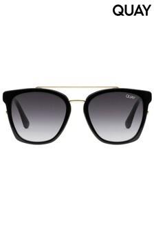 Quay Black Sweet Dreams Square Sunglasses