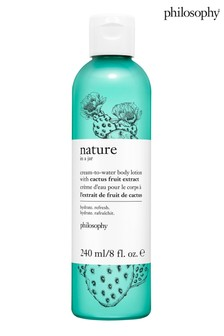 Philosophy Nature In A Jar Nourishing In-Shower Oil With Hemp-Derived Cannabis Sativa Seed Oil
