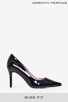 Dorothy Perkins Wide Fit Dele Court Shoe