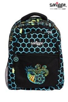 Smiggle Black Far Away Backpack