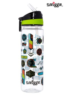 Smiggle Black Far Away Drink Bottle