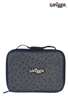 Smiggle Navy Block Square Lunchbox