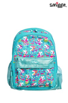 Smiggle Green Whirl Junior Backpack