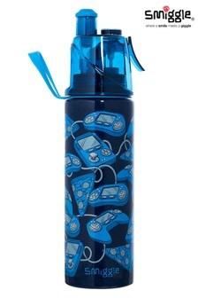 Smiggle Navy Spritz Stainless Steel Drink Bottle
