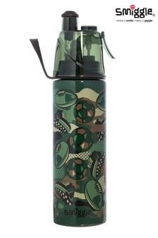 Smiggle Khaki Spritz Stainless Steel Drink Bottle