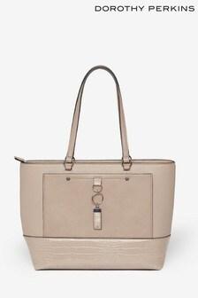 Dorothy Perkins Pocket Front Tote Bag