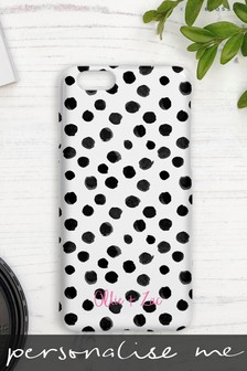 Personalised Spotty Samsung Phone Case by Koko Blossom