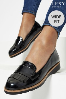 Lipsy Wide Fit Wedge Loafer