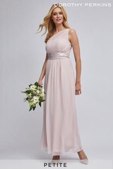 Dorothy Perkins Pink Showcase Sadie One Shoulder Maxi Dress