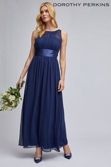 Dorothy Perkins Navy Orothy Perkins Showcase Natalie Maxi Dress