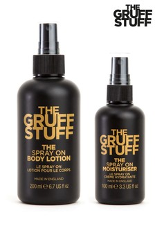 THE GRUFF STUFF The Face and Body Set