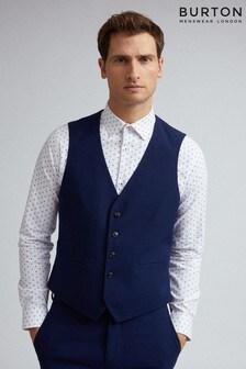 Burton Texture Skinny Fit Waistcoat