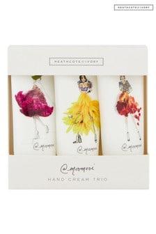Heathcote & Ivory Meredith Wing By Heathcote & Ivory Hand Cream Trio Gift Box Travel Size